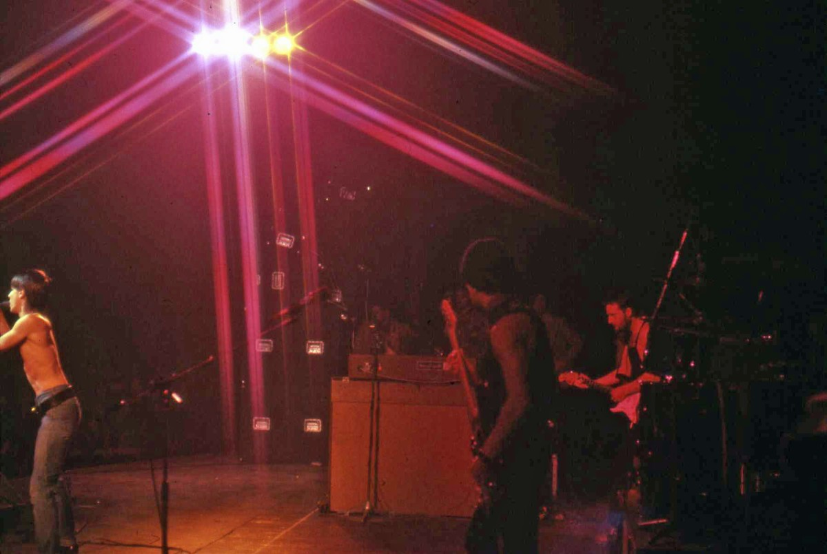 Iggy Pop Rainbow Idiot Tour 1977