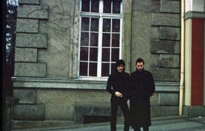 Ricky Gardiner and Tony Sales Berlin 1977