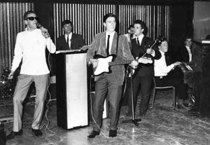Ricky Gardiner with the Kingbees 1963