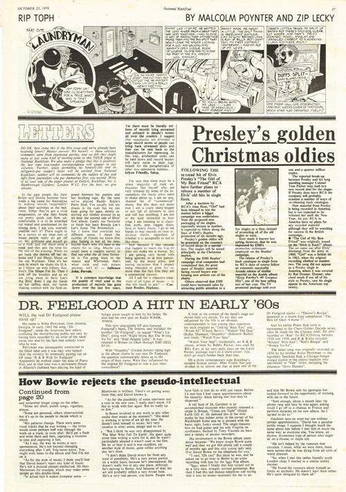National Rockstar mag page 27 10/23/1976