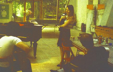 Mary Hopkin/ Jess  Tony Visconti and Brian Eno